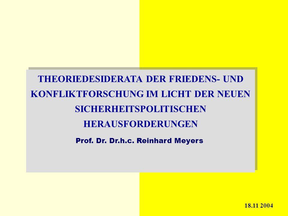 Prof. Dr. Dr.h.c. Reinhard Meyers