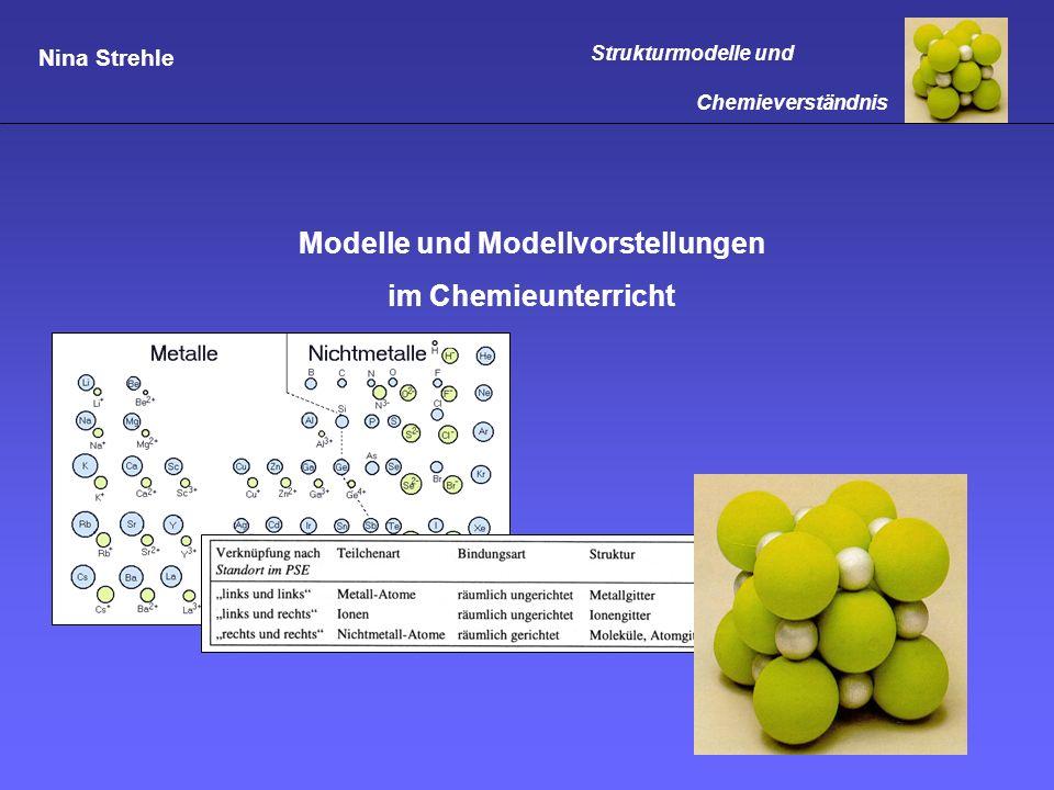 Modelle und Modellvorstellungen