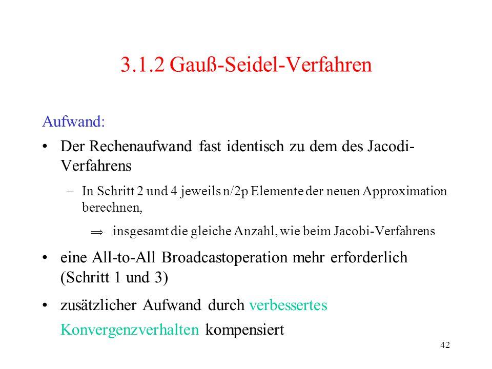 3.1.2 Gauß-Seidel-Verfahren