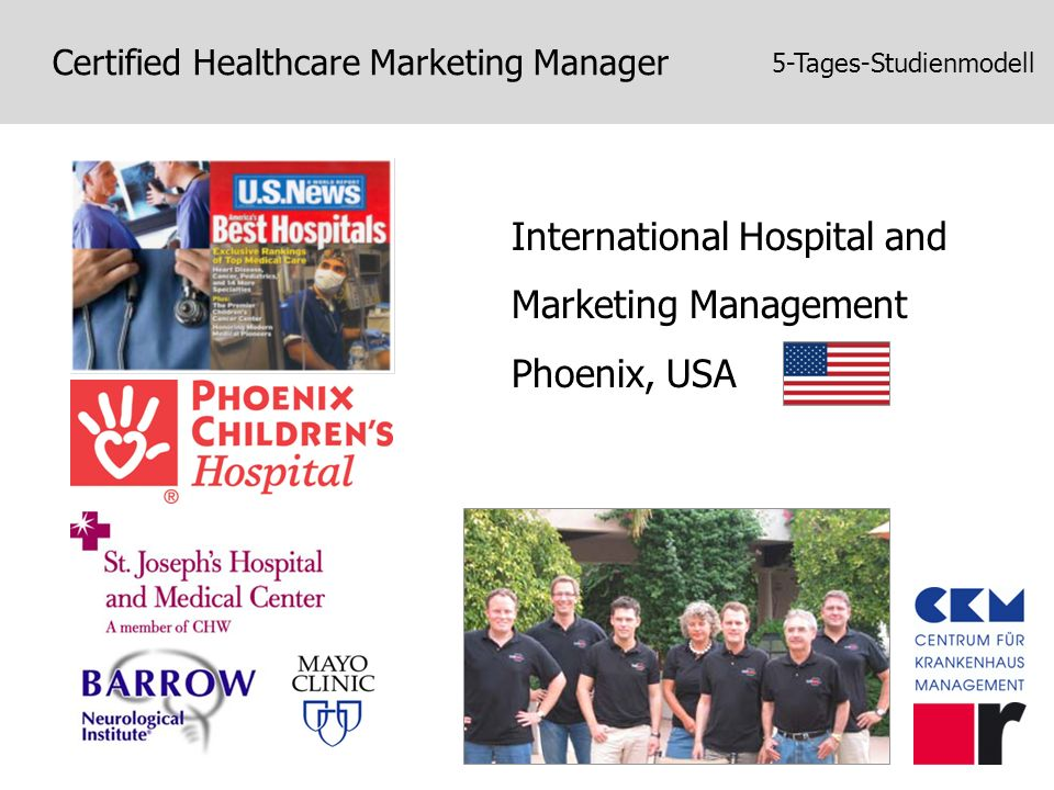 International Hospital and Marketing Management