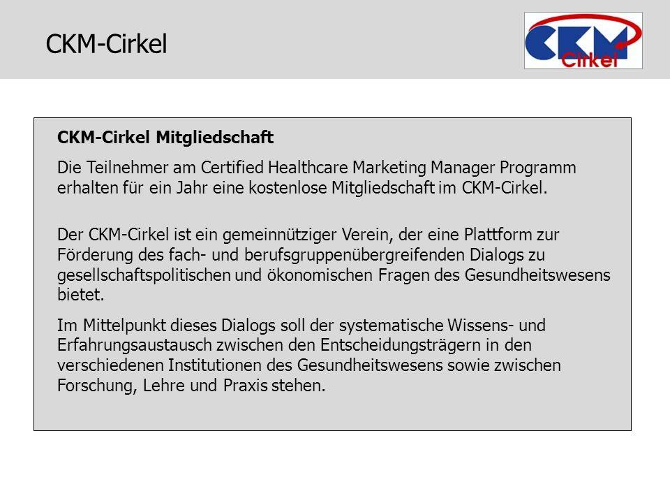 CKM-Cirkel CKM-Cirkel Mitgliedschaft