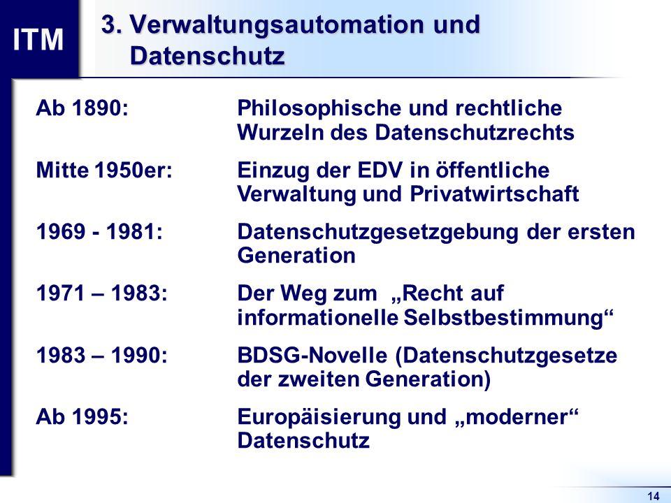 3. Verwaltungsautomation und Datenschutz