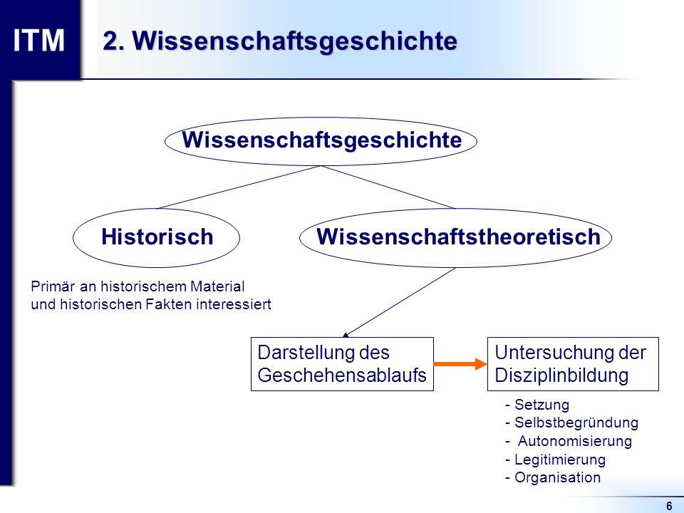 2. Wissenschaftsgeschichte