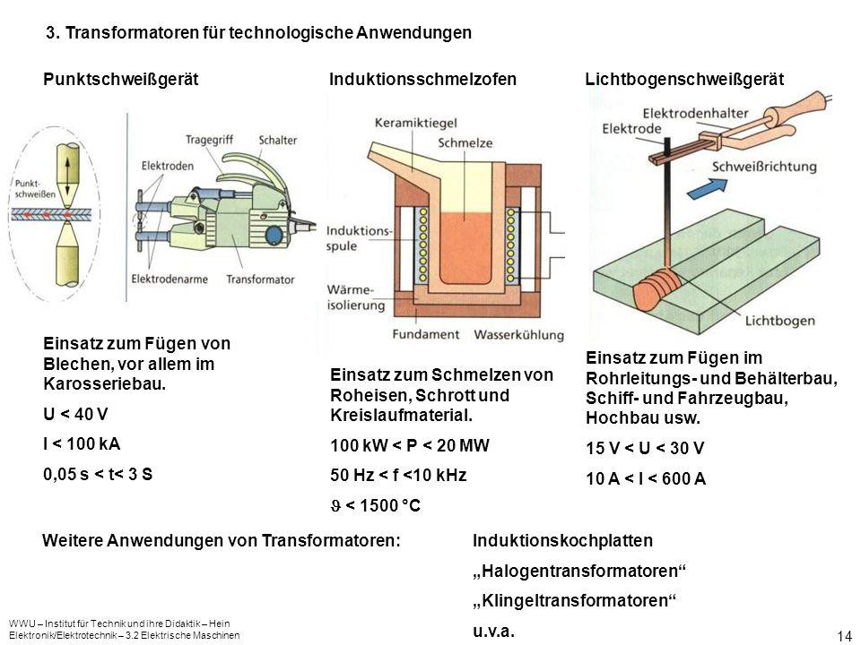 3. Transformatoren für technologische Anwendungen