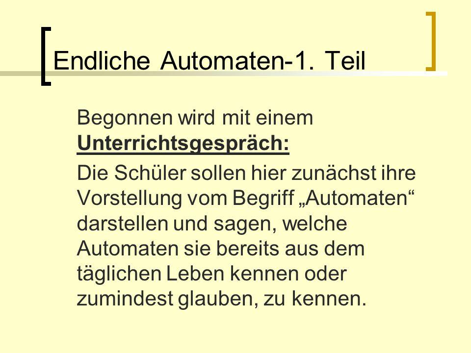 Endliche Automaten-1. Teil