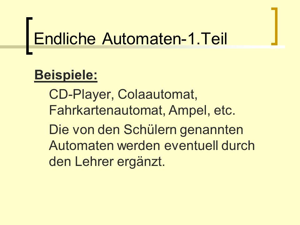 Endliche Automaten-1.Teil