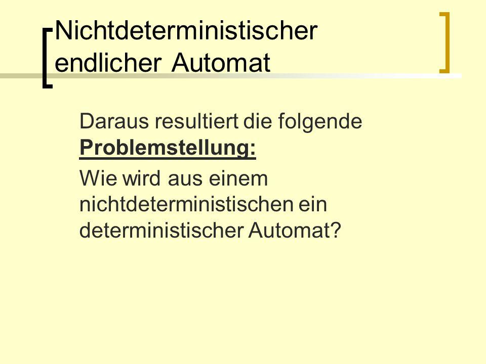 Nichtdeterministischer endlicher Automat