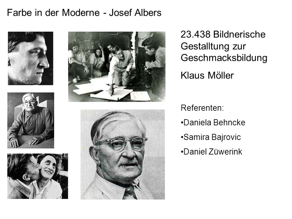 Farbe in der Moderne - Josef Albers