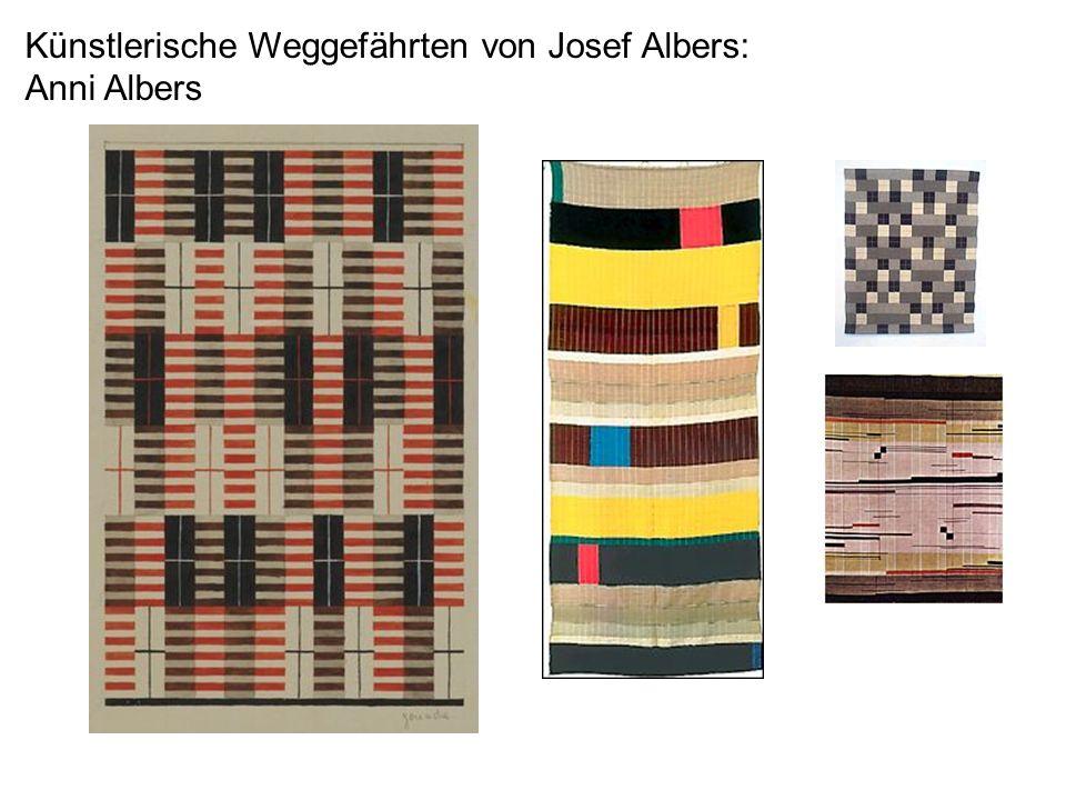 Künstlerische Weggefährten von Josef Albers: