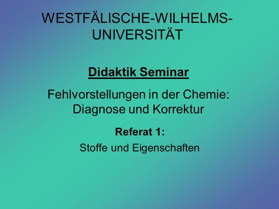 WESTFÄLISCHE-WILHELMS-UNIVERSITÄT