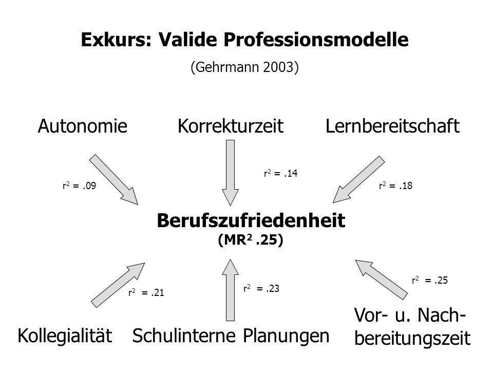 Berufszufriedenheit (Gehrmann 2003)