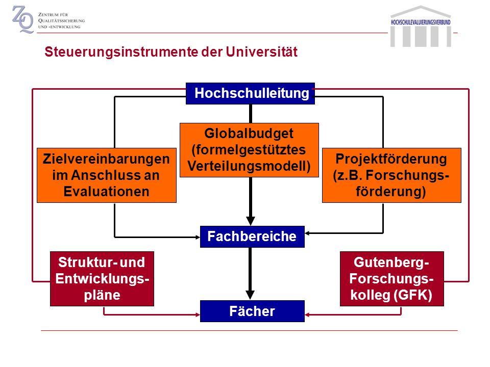 Gutenberg-Forschungs-kolleg (GFK) Struktur- und Entwicklungs-pläne