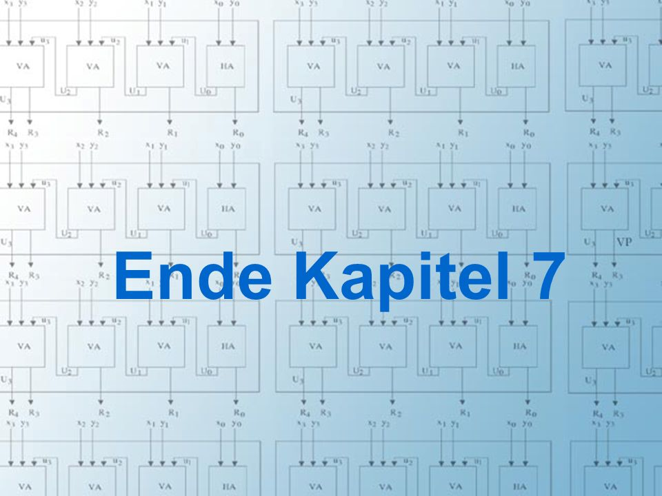 Ende Kapitel 7