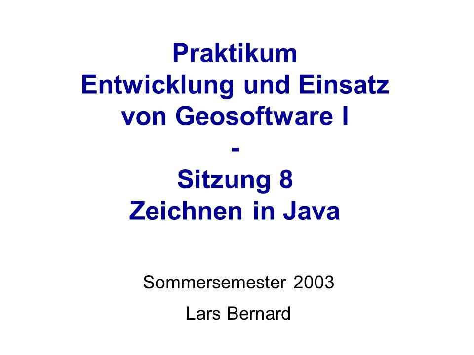 Sommersemester 2003 Lars Bernard