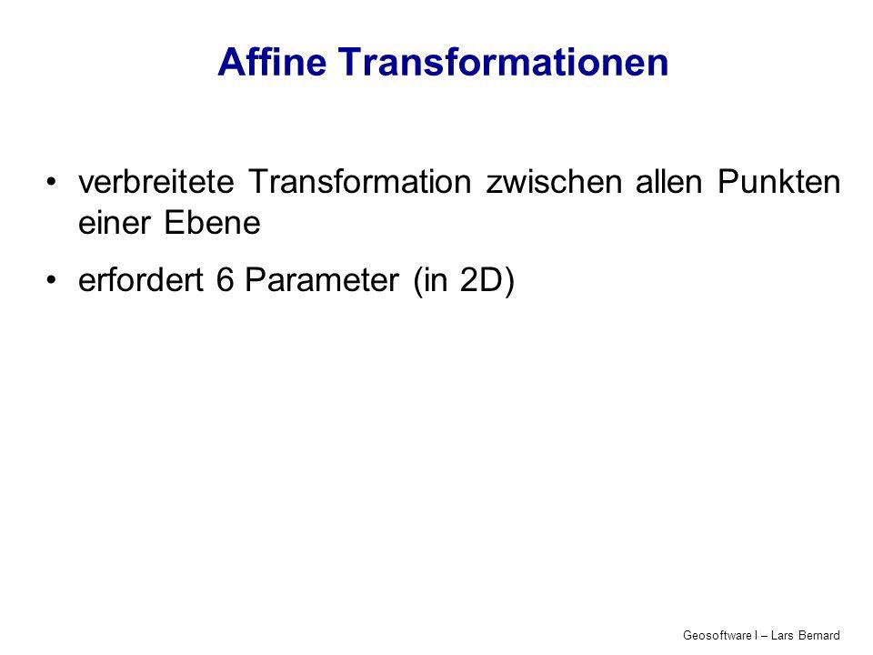Affine Transformationen