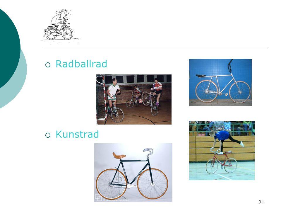 Radballrad Kunstrad