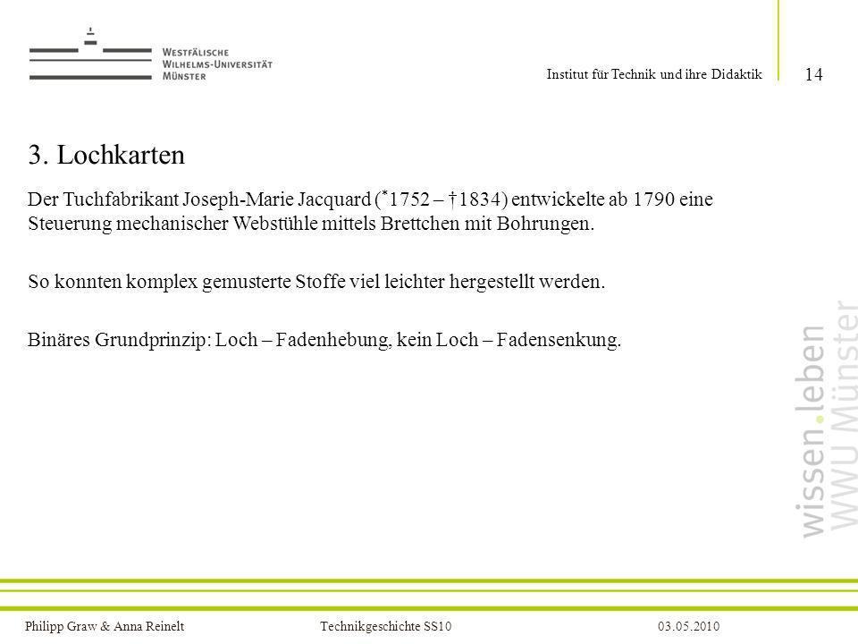 Institut für Technik und ihre Didaktik