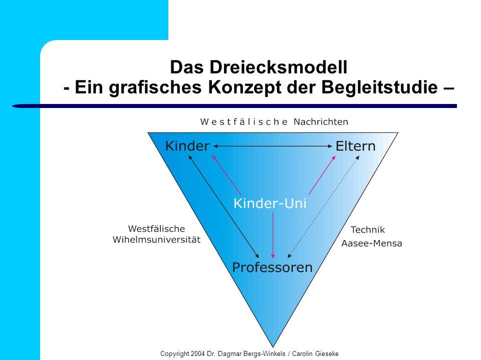 Das Dreiecksmodell - Ein grafisches Konzept der Begleitstudie –