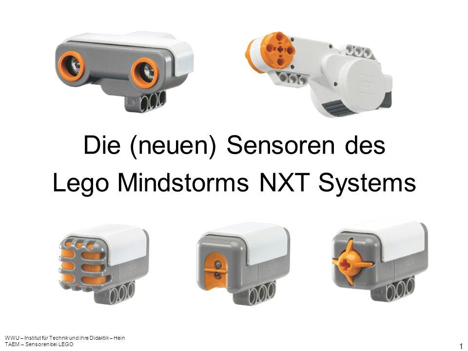 Die (neuen) Sensoren des Lego Mindstorms NXT Systems