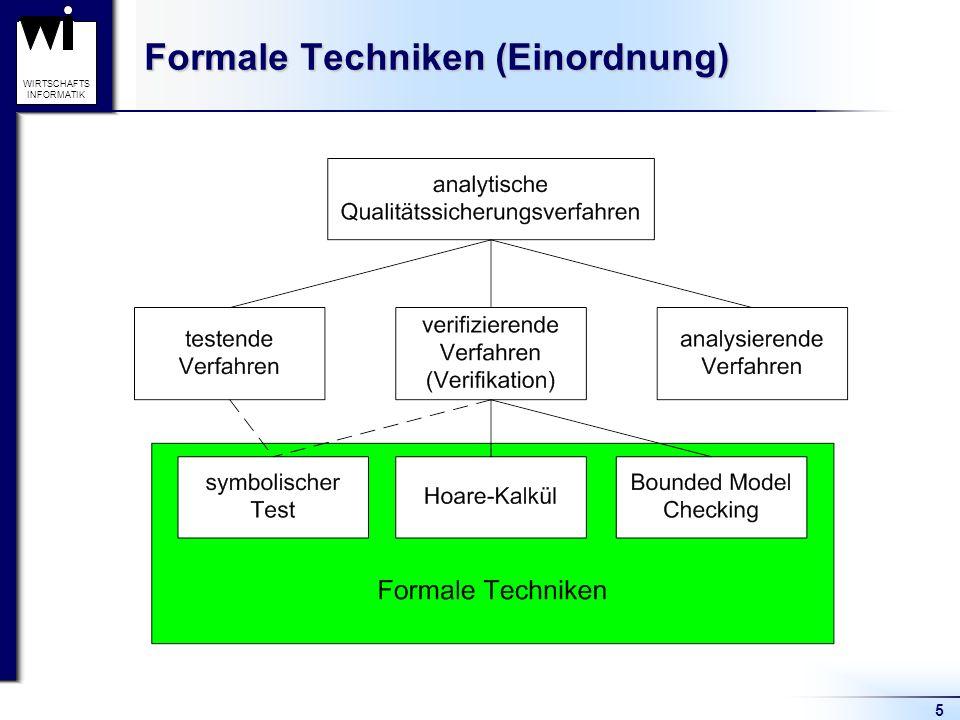 Formale Techniken (Einordnung)