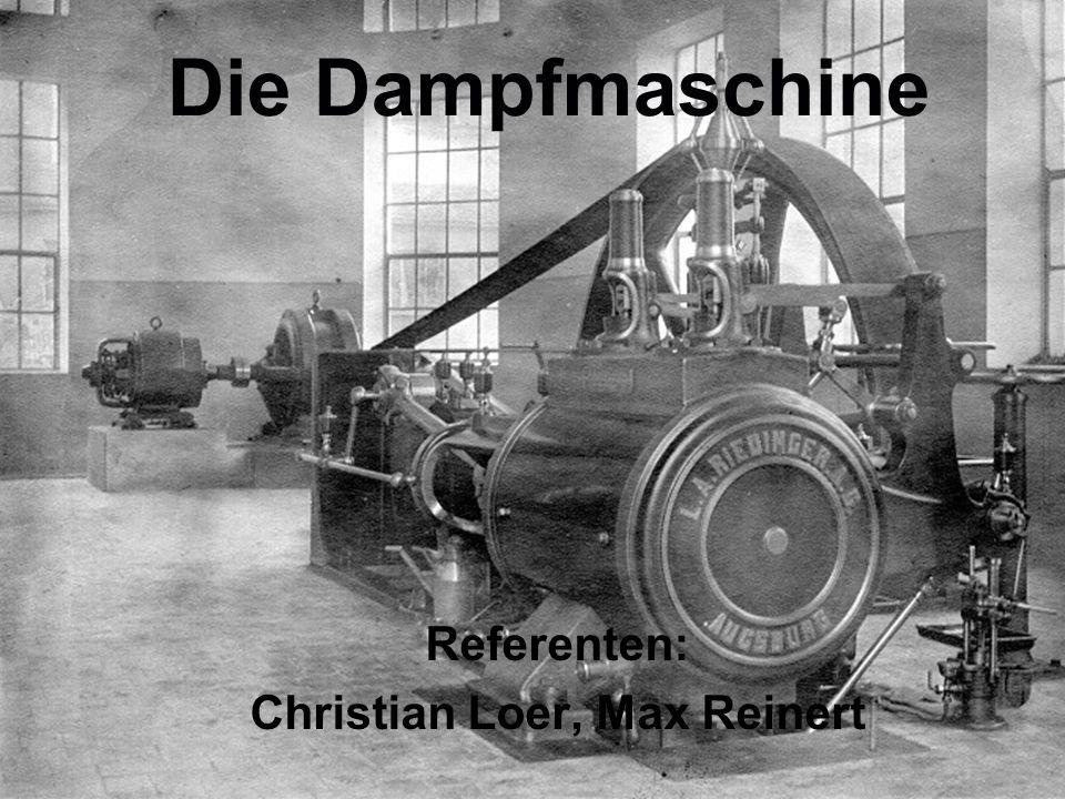 Referenten: Christian Loer, Max Reinert