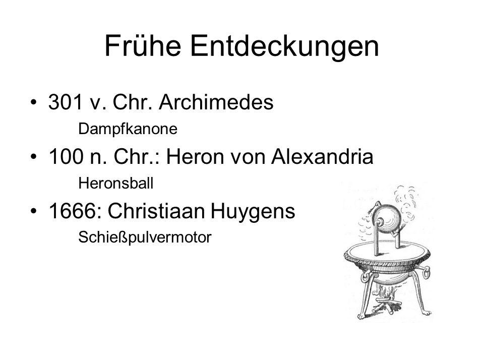 Frühe Entdeckungen 301 v. Chr. Archimedes