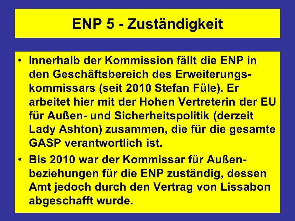 ENP 5 - Zuständigkeit