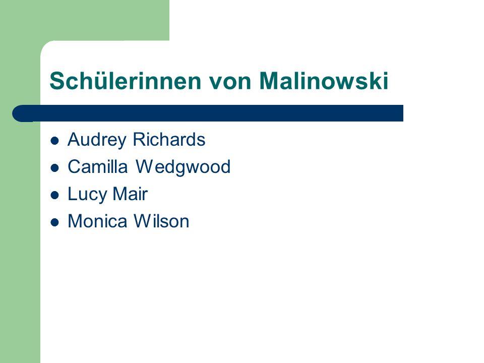 Schülerinnen von Malinowski