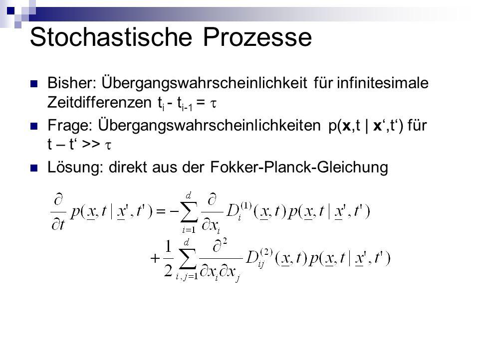 Stochastische Prozesse