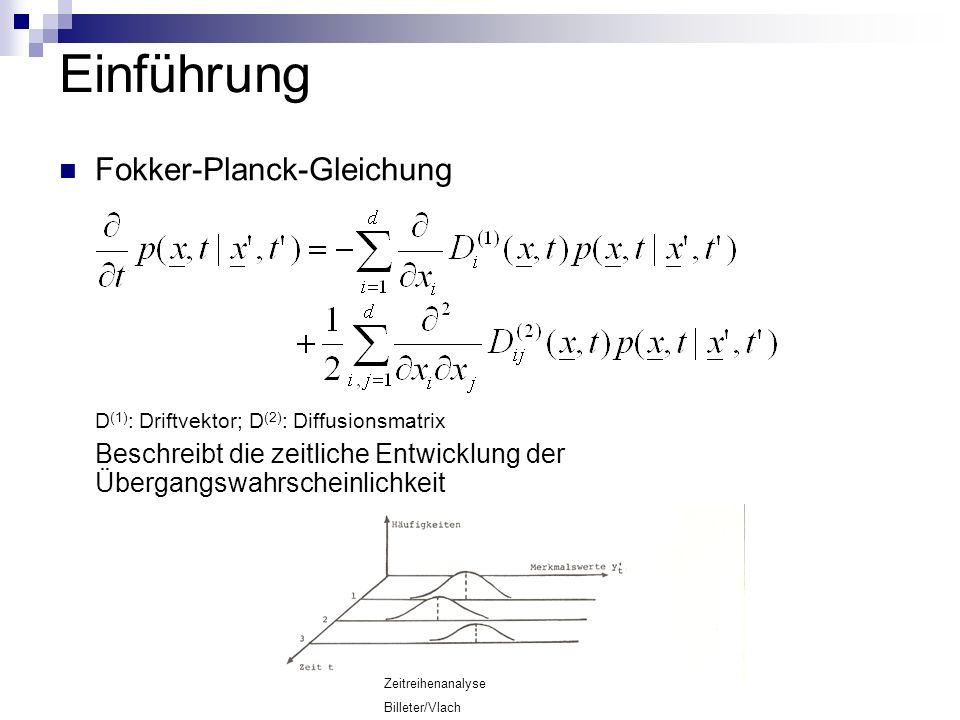 Einführung Fokker-Planck-Gleichung