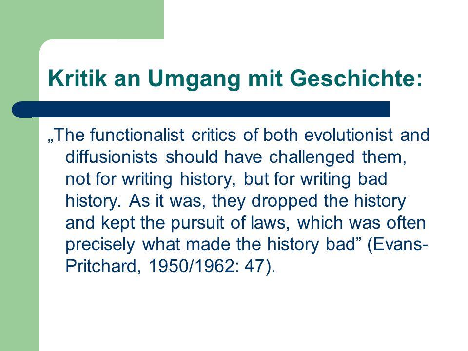 Kritik an Umgang mit Geschichte: