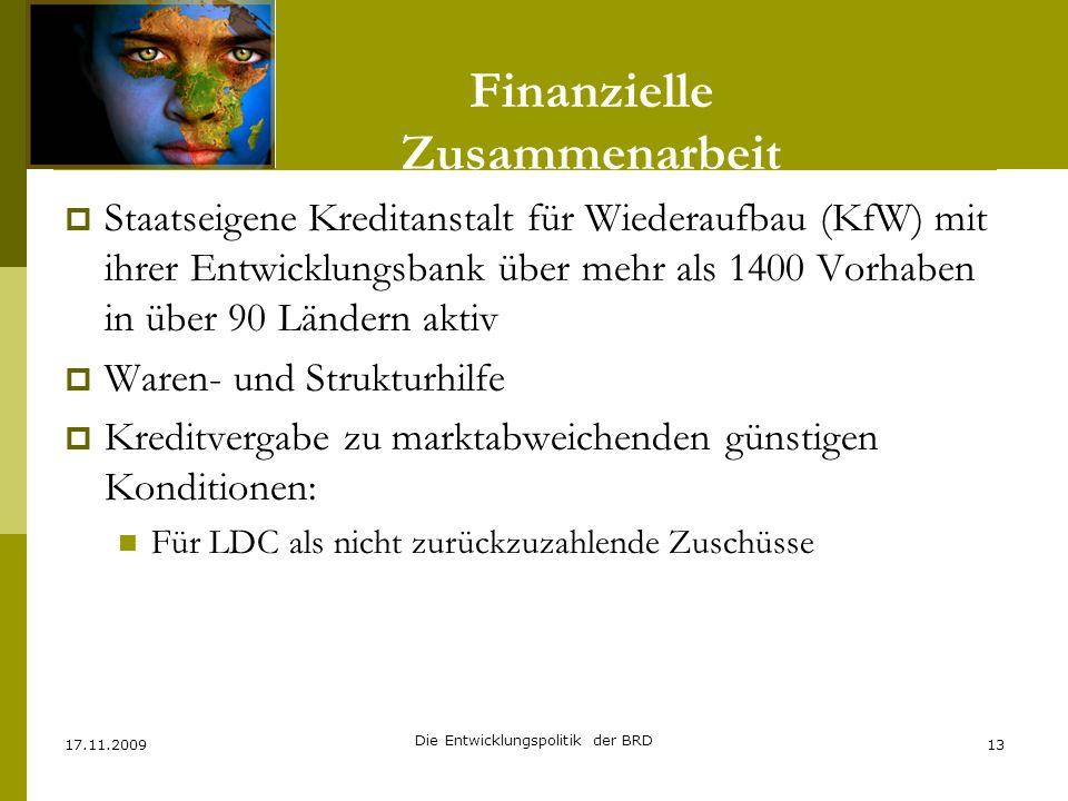 Finanzielle Zusammenarbeit