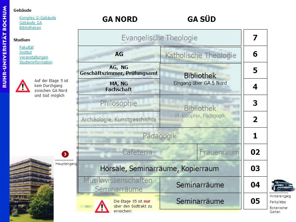 AG, NG Geschäftszimmer, Prüfungsamt