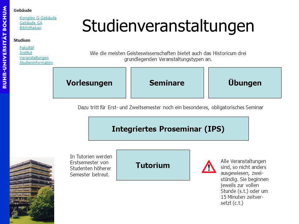 Integriertes Proseminar (IPS)