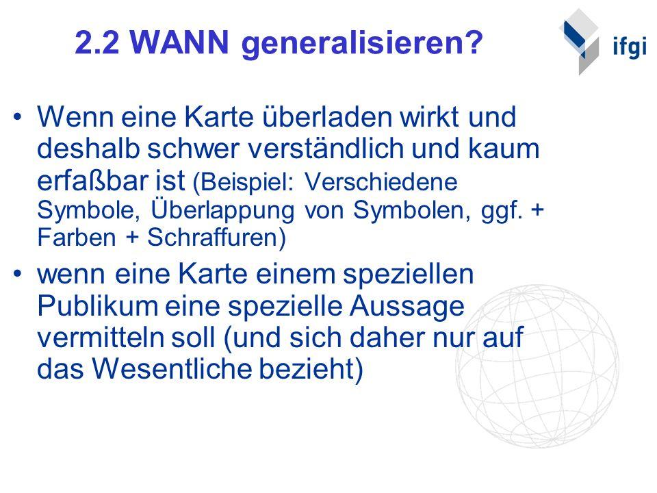 2.2 WANN generalisieren