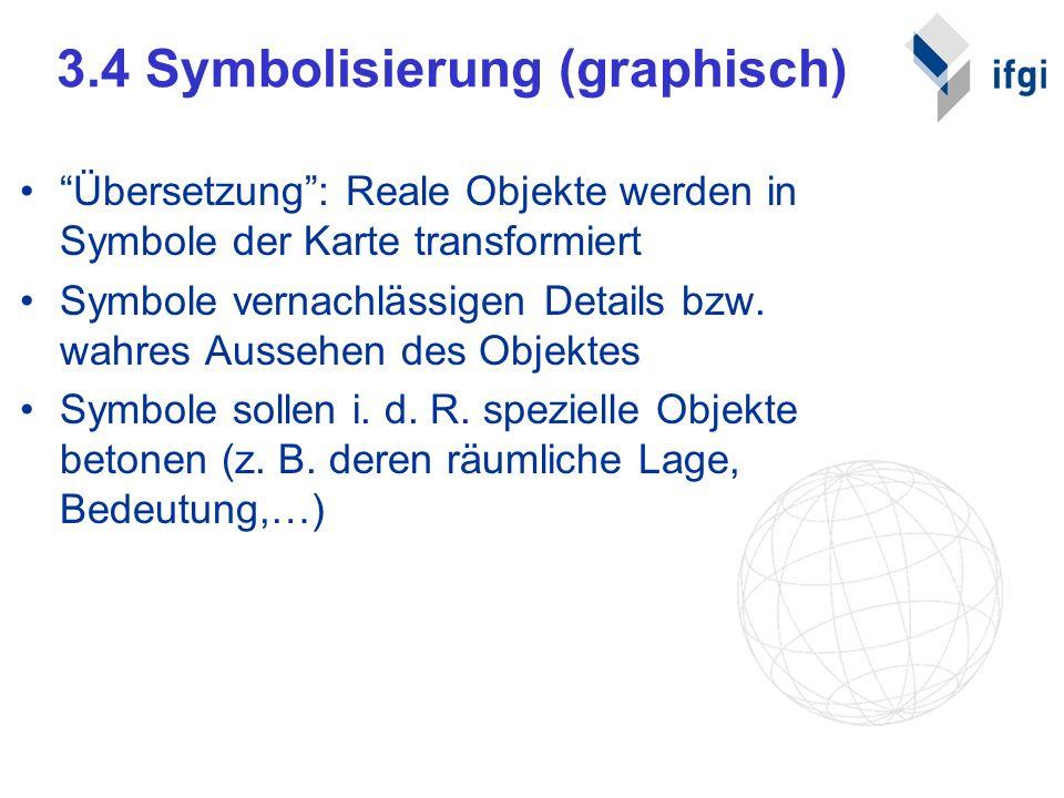 3.4 Symbolisierung (graphisch)
