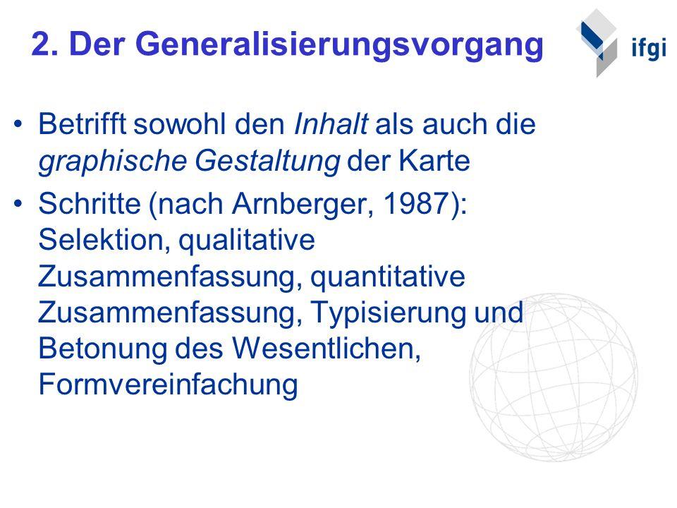 2. Der Generalisierungsvorgang