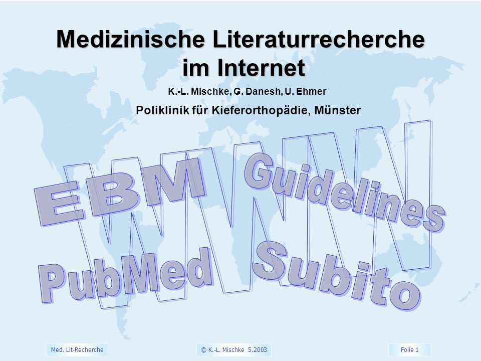 Medizinische Literaturrecherche