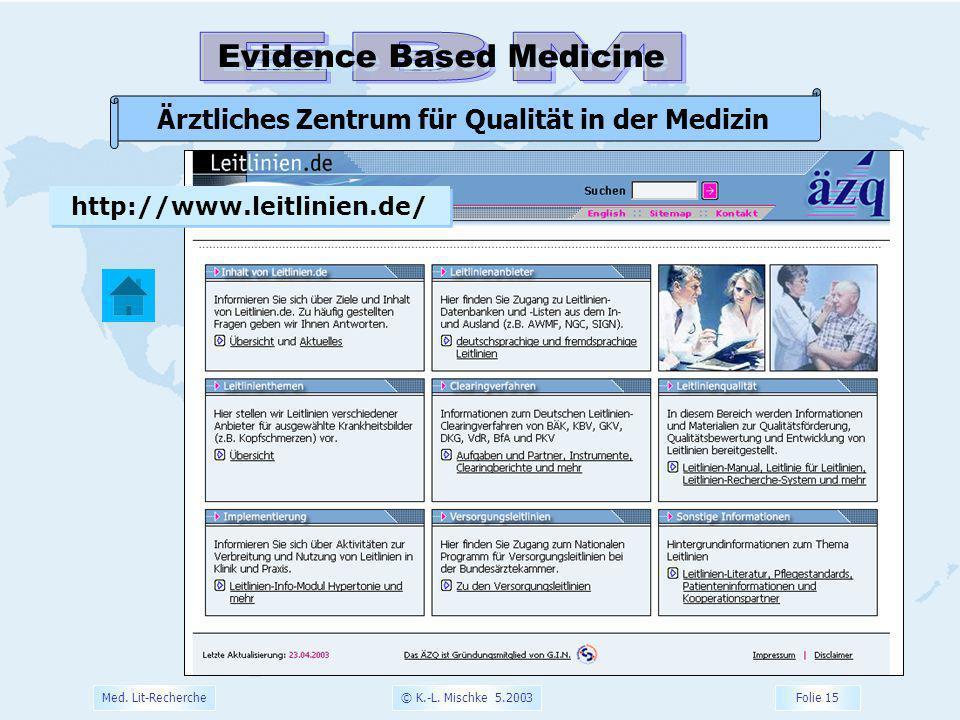 Ärztliches Zentrum für Qualität in der Medizin