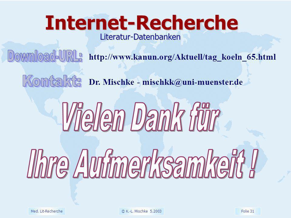 Literatur-Datenbanken