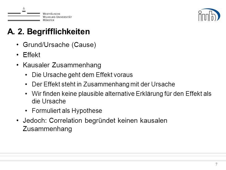 A. 2. Begrifflichkeiten Grund/Ursache (Cause) Effekt
