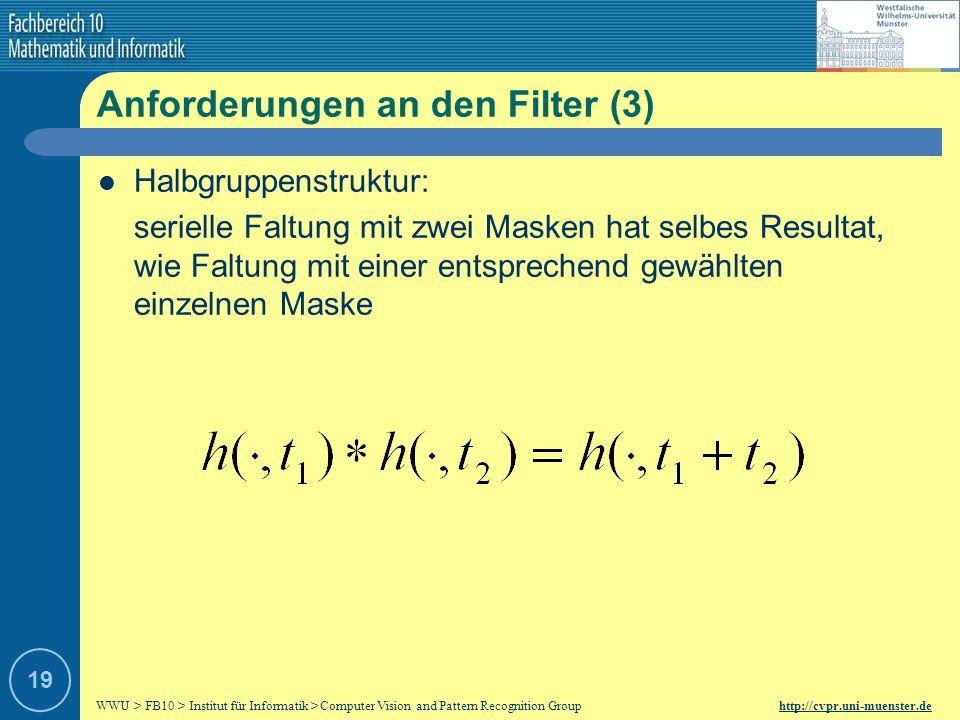 Anforderungen an den Filter (3)