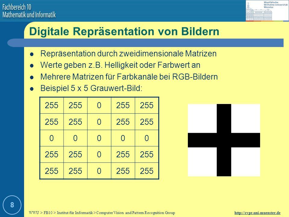 Digitale Repräsentation von Bildern
