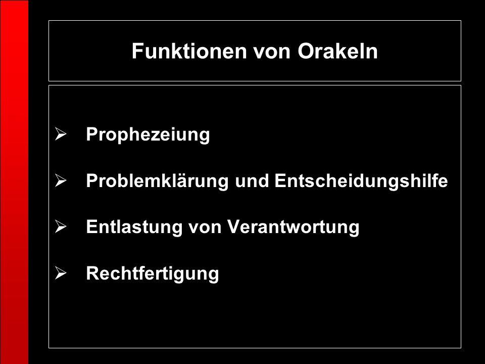 Funktionen von Orakeln