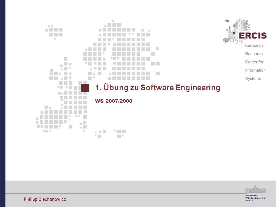 1. Übung zu Software Engineering