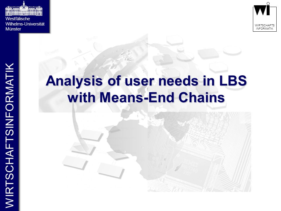 Analysis of user needs in LBS with Means-End Chains