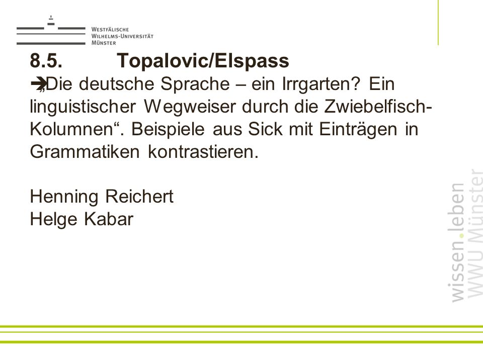8.5. Topalovic/Elspass