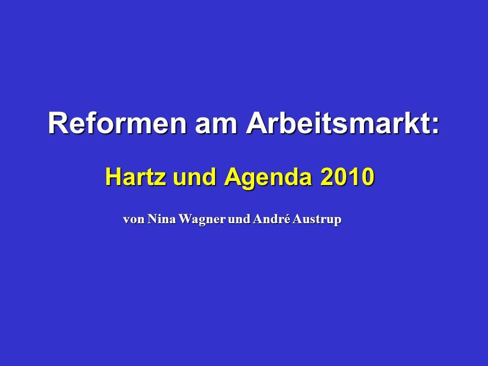 Reformen am Arbeitsmarkt: