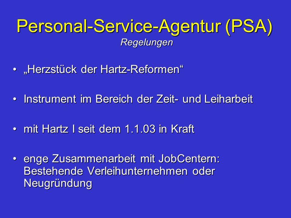 Personal-Service-Agentur (PSA)
