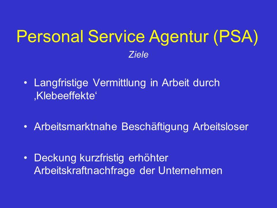 Personal Service Agentur (PSA)